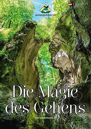 """Cover """"Die Magie des Gehens 2016"""""""