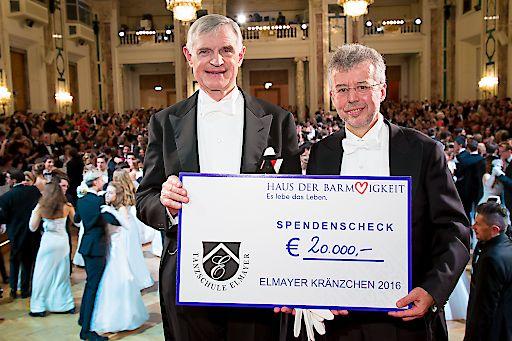 http://www.apa-fotoservice.at/galerie/7444 Im Bild v.l.n.r.: Thomas Schäfer-Elmayer und Prim. Univ.-Prof. Dr. Christoph Gisinger (Institutsdirektor Haus der Barmherzigkeit)