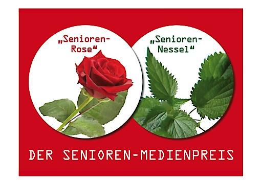 """Nominierungen und Preisträger der """"Senioren-Rose"""" und """"Senioren-Nessel"""" 2015"""