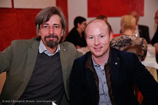 Andreas Janzek und Christian Schneebauer