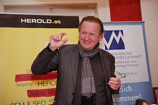 Wolfgang Unterhuber zu Gast in der ÖMG Business Lounge im Stadtwirt