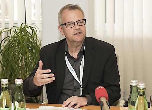 Univ. Prof. Dr. Guy Friedrich beim 18. Kardiologie Kongress in Innsbruck