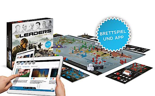 LEADERS - Brettspiel und App begeistert bereits mehr als 35.000 Spieler.