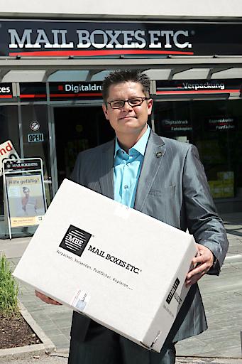 Dieter Baier, Österreich Manager von MBE Fotocredit: Mailboxes Etc.(MBE) Abdruck honorarfrei