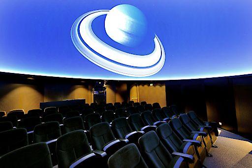 ".Digitales ""Fulldome"" Planetarium im NHM Wien"