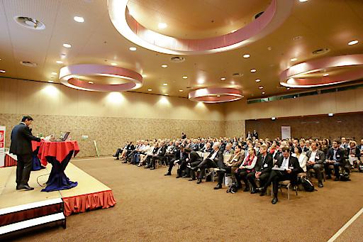 Ein Blick ins Publikum des diesjährigen IIR Bankenkongress KURS 2016