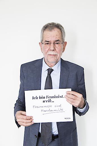 Alexander Van der Bellen_#IchBinFeminist