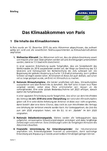 GLOBAL 2000: Roadmap für Ausstieg aus fossiler Energie in Österreich gefordert!