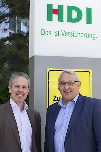 Bild: Thomas Lackner und Hugo Martinshausen (HDI ...