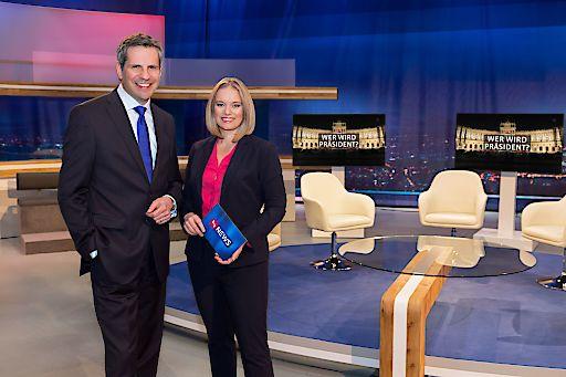 Corinna Milborn und Thomas Mohr