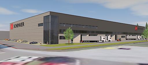 Neues Logistikzentrum in Kufstein