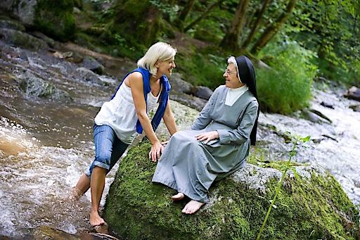 Eine Auszeit mit Schwester Gabriela im Pesenbachtal nahe Bad Mühllacken