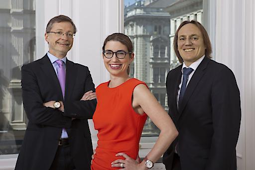 Martin Oppitz, Marie-Agnes Arlt und Hermann Ortner.