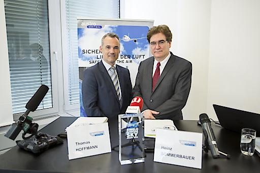 Geschäftsführer COO Thomas Hoffmann, MSc. und CEO Dr. Heinz Sommerbauer