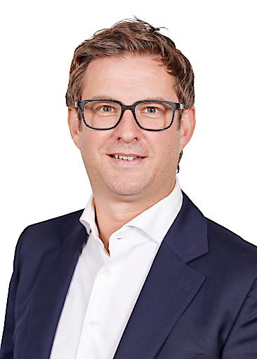 Hansjörg B. Gutensohn, Geschäftsführer Stämpfli GmbH, zieht eine positive Bilanz über das erste Geschäftsjahr