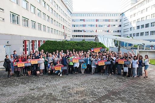 Initiatorinnen von Grätzelinitiativen in den Gesunden Bezirken zu Gast bei der Wiener Gesundheitsförderung