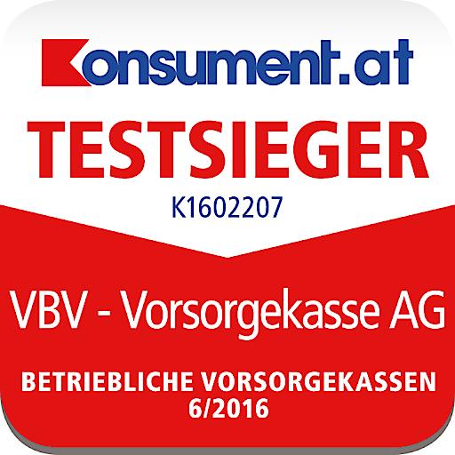 """Als Testsieger im kürzlich veröffentlichten Branchenranking der VKI-Zeitschrift """"Konsument"""" erhielt die VBV als einzige österreichische Vorsorgekasse die Note """"sehr gut""""."""
