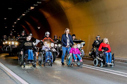 Harley-Davidson Charity-Tour (Foto: Dieter Kulmer)