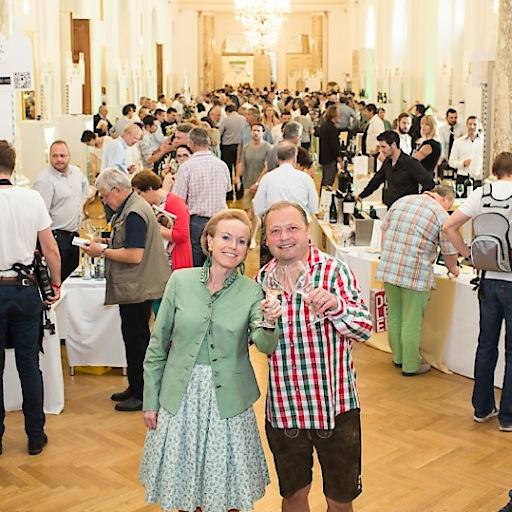 Auch zahlreiche deutsche Winzer begeistern die Besucher der VieVinum