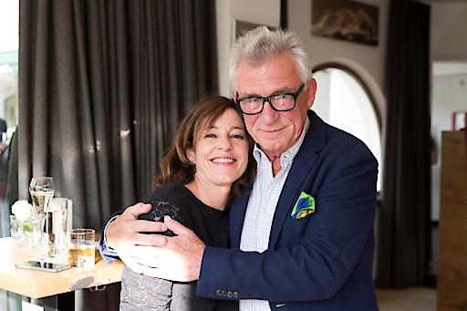 Die SOKO Kitzbühel-Stars Julia Cencig und Heinz Marecek beim Legendenfest im Sporthotel Reisch**** Kitzbühel.