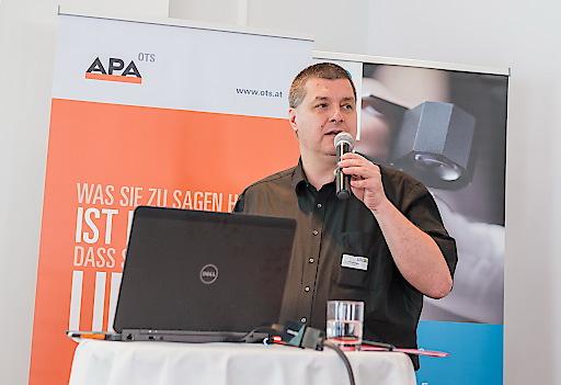 https://www.apa-fotoservice.at/galerie/7628 Alfons Stockinger (APA-PictureDesk GmbH) referierte über die Details bei Bildrechten und Lizenzen.