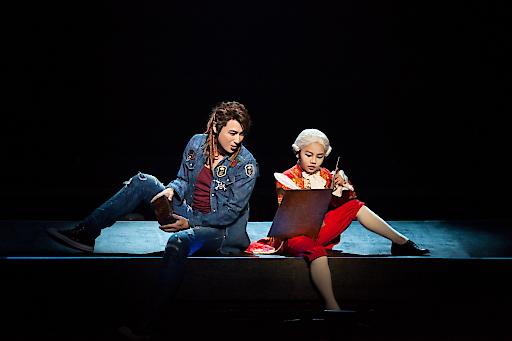 Jo Hoon Lee als Mozart mit Alter Ego Amadé