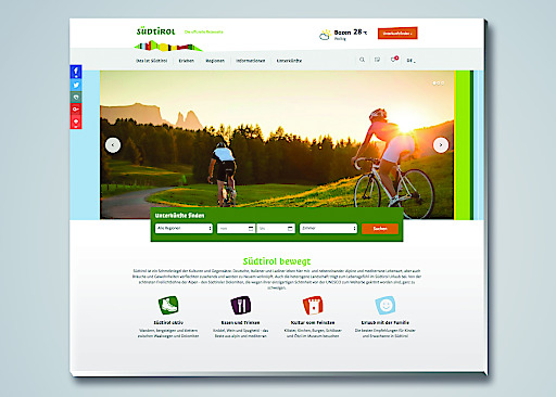 Die Salzburger Digitalagentur elements realisiert die neue Website für die Landestourismusorganisation Südtirol und baut damit das Wachstum im eTourismus aus.