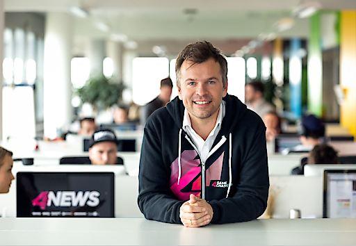 Geschäftsführung ProSiebenSat.1 PULS 4 Markus Breitenecker