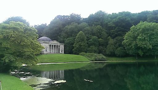 Pantheon des Gartens Stourhead