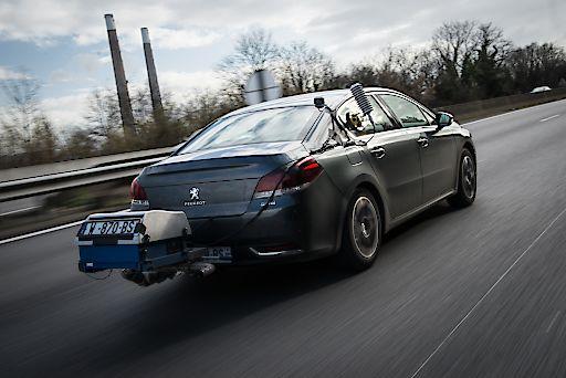 Peugeot 508 im Verbrauchstest nach RDE-Verfahren