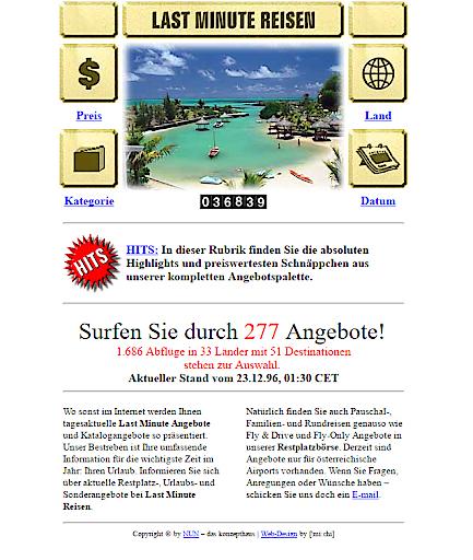Die Restplatzbörse feiert Jubiläum mit Besucherrekord – 20 Jahre online mit www.restplatzboerse.at