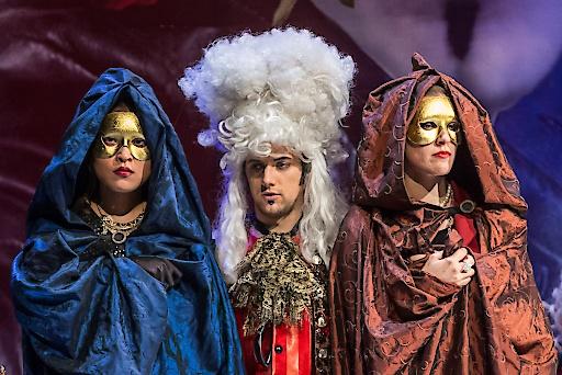 """Szene aus """"Don Giovanni"""" – ab 6. August im Schlosstheater Schönbrunn, Wien"""