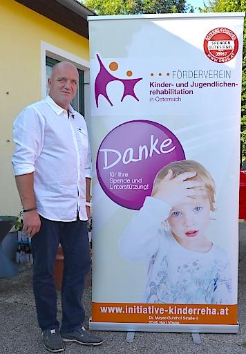 """Markus Wieser, Obmann und Gründer """"Initiative Kinderreha"""""""