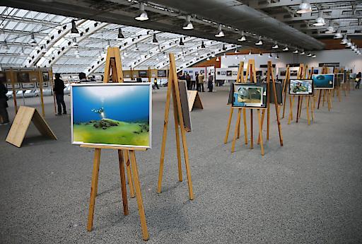 Fotoausstellung auf der Photo+Adventure