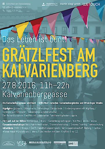 Einladung zum 3. barrierfreien Strassenfest
