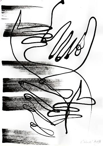 """Sibylle Schwarz, """"4 Hands"""", 2016"""