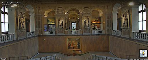 Ab 13. September 2016 kann das Naturhistorische Museum Wien (NHM Wien) online, kostenlos, aus aller Welt rund um die Uhr besucht werden: In Kooperation mit Google Arts & Culture wurde ein virtueller Rundgang zu den Top 100-Objekten des Hauses gestaltet.