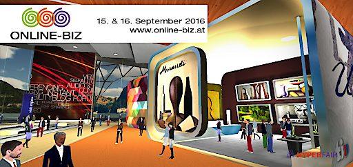 """Klick für Klick zur 1.virtuellen MICE Messe, der """"Online BIZ"""", 15. und 16. September, 10.00 – 18.00 Uhr"""