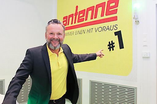 Antenne Geschäftsführer Gottfried Bichler