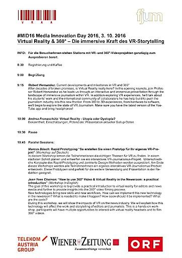 Virtual Reality: Gallup Institut präsentiert beim Media Innovation Day 2016 erste Studie zum VR-Potenzial in Österreich
