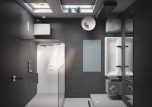 bild so kommen kleine b der gro raus kaldewei zeigt drei clevere l sungen f r kleine. Black Bedroom Furniture Sets. Home Design Ideas