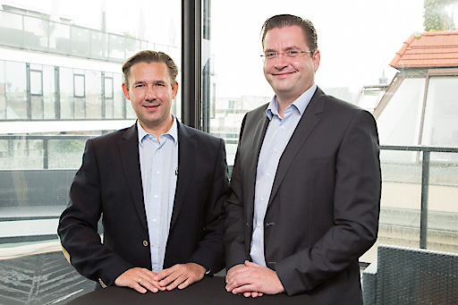 http://www.apa-fotoservice.at/galerie/8244 Im Bild v.l.n.r.: Mag. Christian Pedak, CEO; Dr. Roland Pedak, CRO