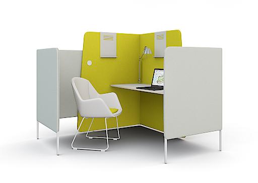 bild wiesner hager auf der orgatec b ro neu denken wiesner hager m bel gmbh. Black Bedroom Furniture Sets. Home Design Ideas
