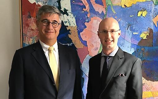 mc Präsident Gerhard Starsich, mc Geschäftsführer Walter Gupfinger (v.l.n.r.)