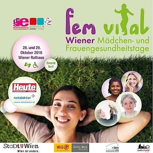 FEM VITAL - Wiener Mädchen und Frauengesundheitstage 2016
