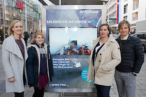 Gemeinsam mit dem führenden Out-of-Home-Anbieter setzt die Umweltorganisation Greenpeace ihre interaktive Involvement-Kampagne fort.