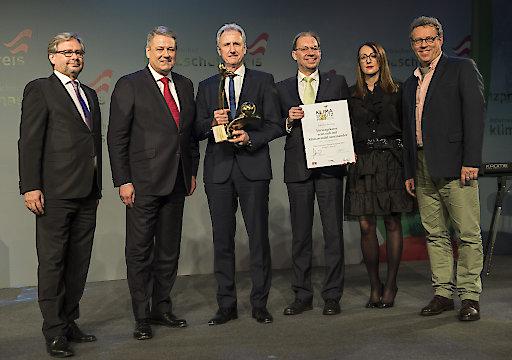 Im Bild von links: Alexander Wrabetz, Andrä Rupprechter, Heinz Behacker, Peter Eitzenberger, Dragana Bilic, Herbert Steinböck.