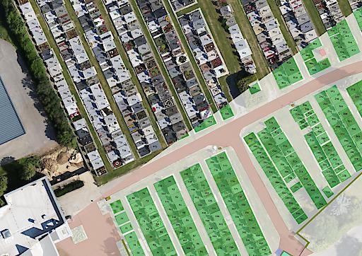 Der digitale Friedhofsplan inkl. der Grabnummer