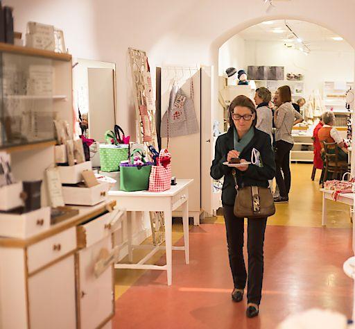 Kunsthandwerk, Kunst & Kulinarik gibt es im Mühlviertel / Freistadt im MÜK, einem Kooperationsprojekt von kleinen Werkstätten, zu sehen und zu kaufen.
