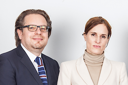 Portrait Thomas Reiter und Martina Holl, GF Bezirksrundschau